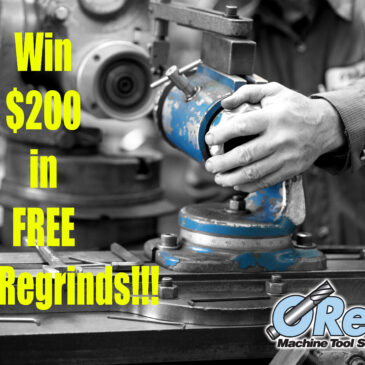 Win $200 in FREE TOOL REGRINDS from O'Reilly MTS!!!